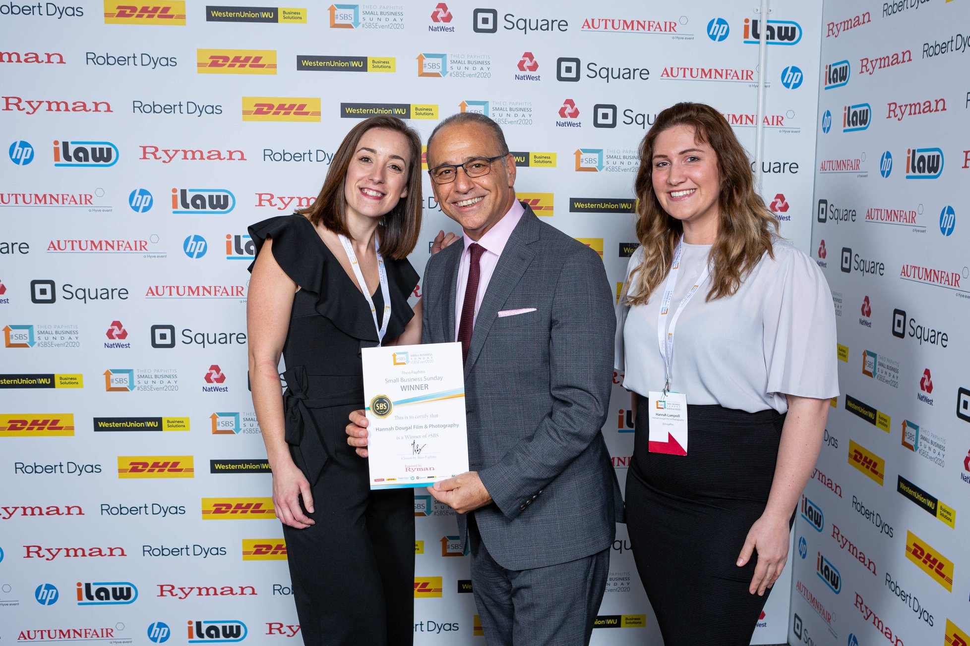 SBS, SBS event 2020, Theo Paphitis, award winning photographer, Kent photographer, small business sunday, small business